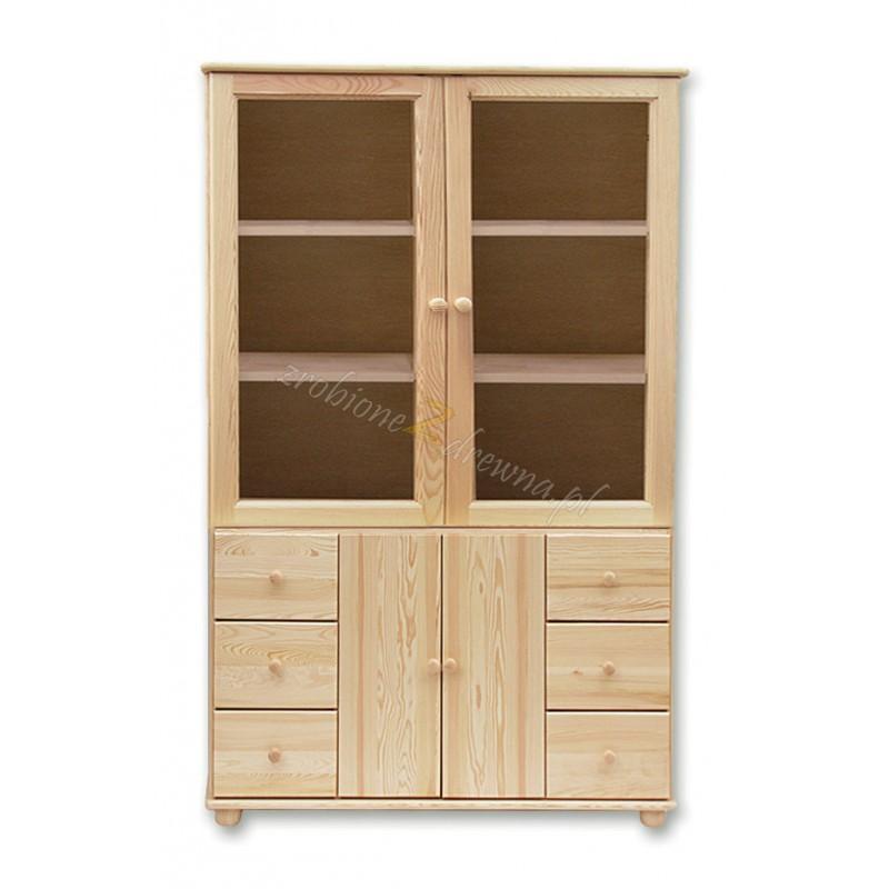 Witryna Klasyczna 41 z litego drewna sosnowego>                                         <span class=