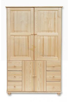 Witryna drewniana Klasyczna 42 do salonu