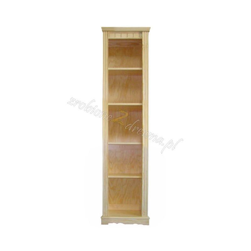 Regał ozdobny Klasyczny 46 z litego drewna sosnowego>                                         <span class=