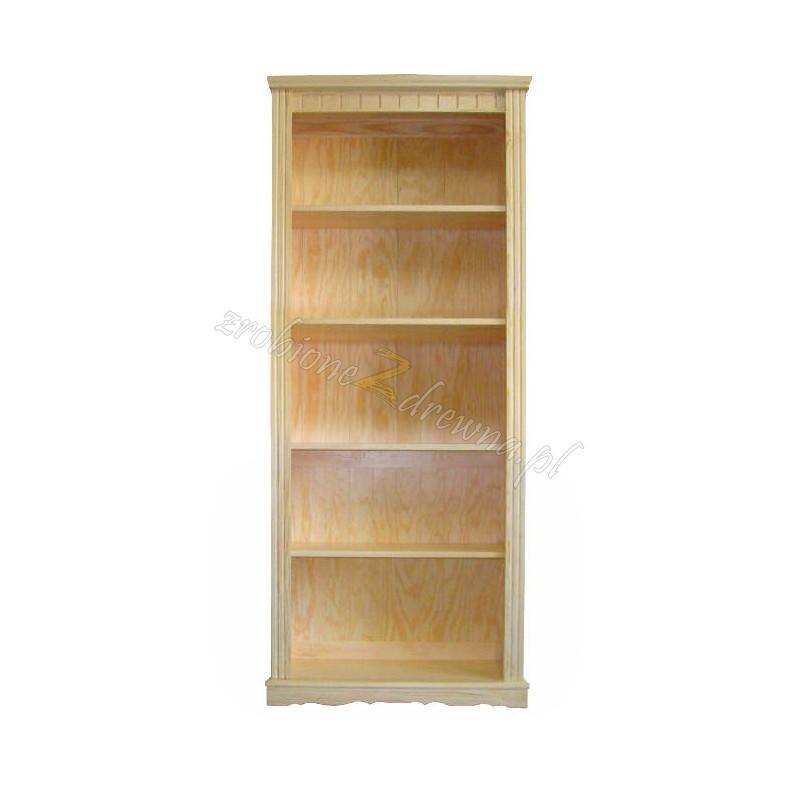 Regał drewniany retro Klasyczny 47 do salonu>                                         <span class=
