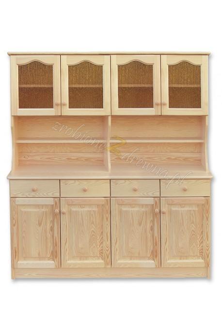 Kredens drewniany Klasyczny 51 do kuchni