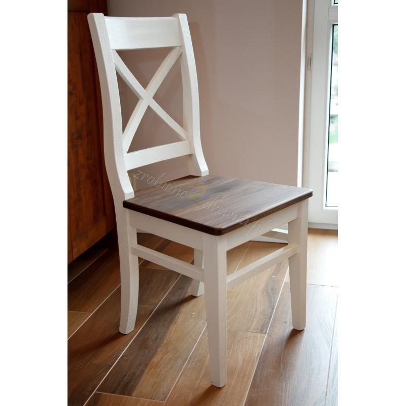 Krzesło z litego drewna Hacienda 03 w stylu retro>                                         <span class=