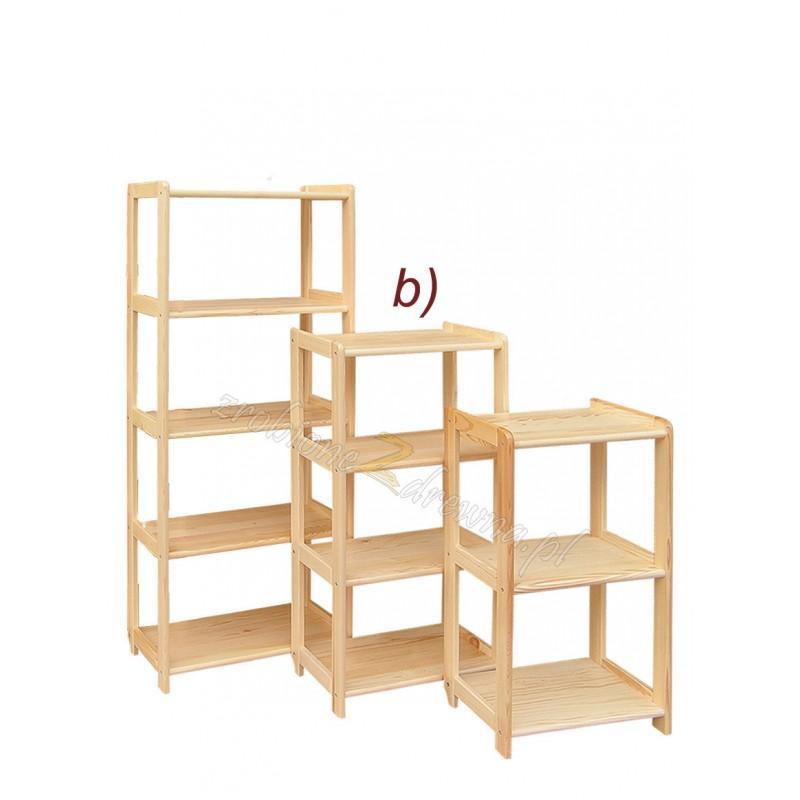 Regał ażurowy drewniany Klasyczny 57 do salonu>                                         <span class=