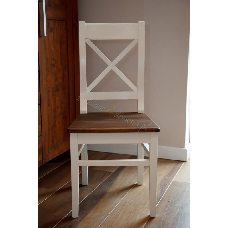 Krzesło z litego drewna Hacienda 04 w stylu retro>                                         <span class=