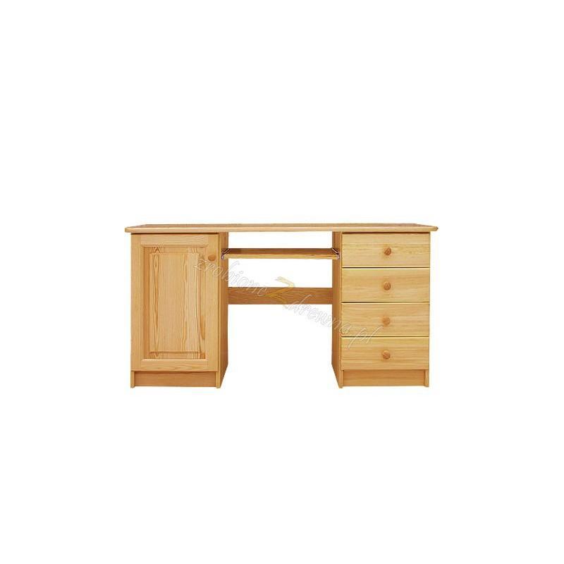 Biurko Klasyczne 03 z litego drewna sosnowego>                                         <span class=