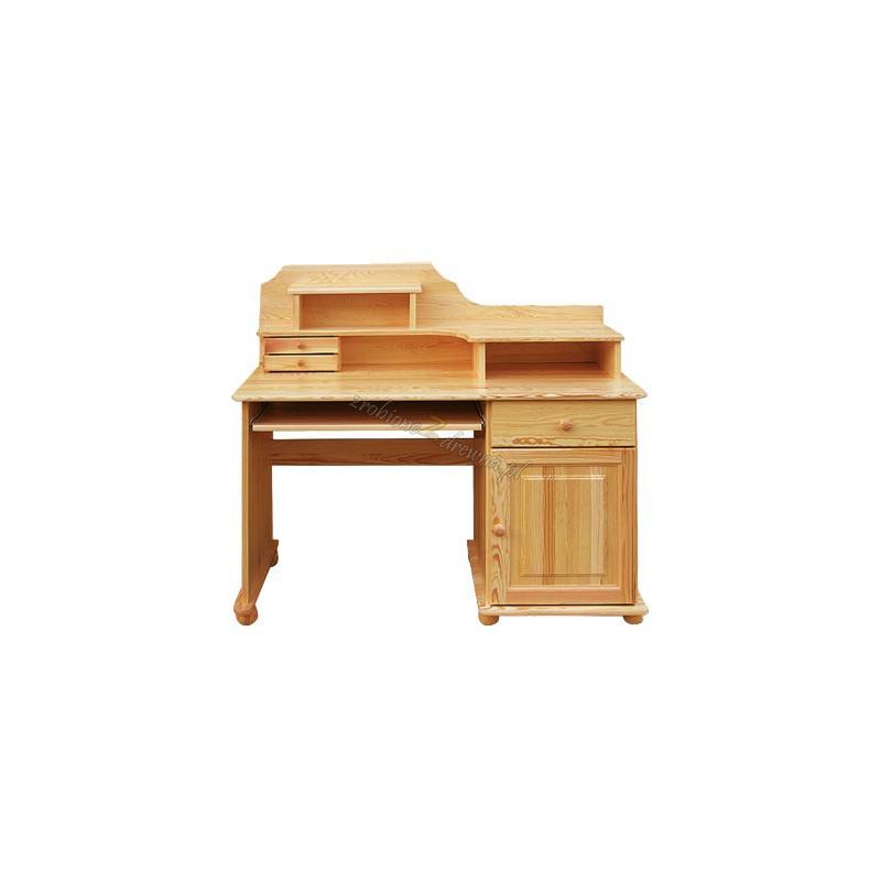 Biurko Klasyczne 06 z litego drewna sosnowego>                                         <span class=
