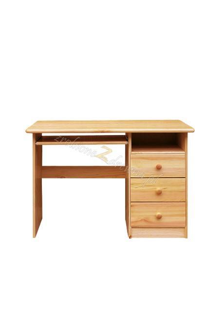 Biurko drewniane Klasyczne 07 do gabinetu