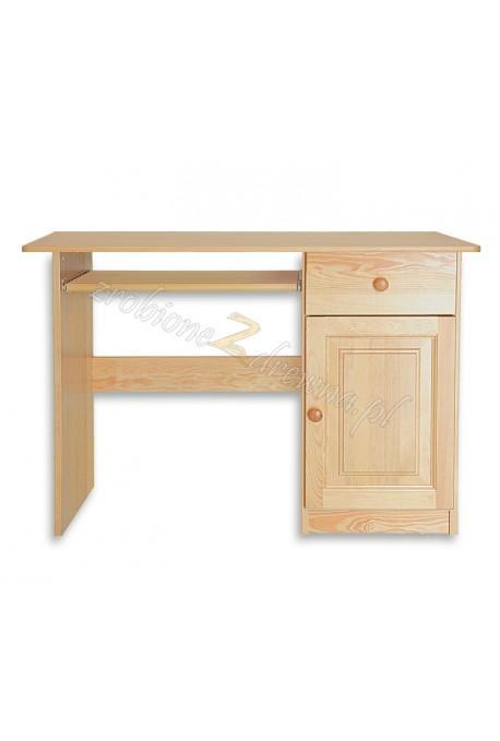 Biurko Klasyczne 09 z litego drewna sosnowego
