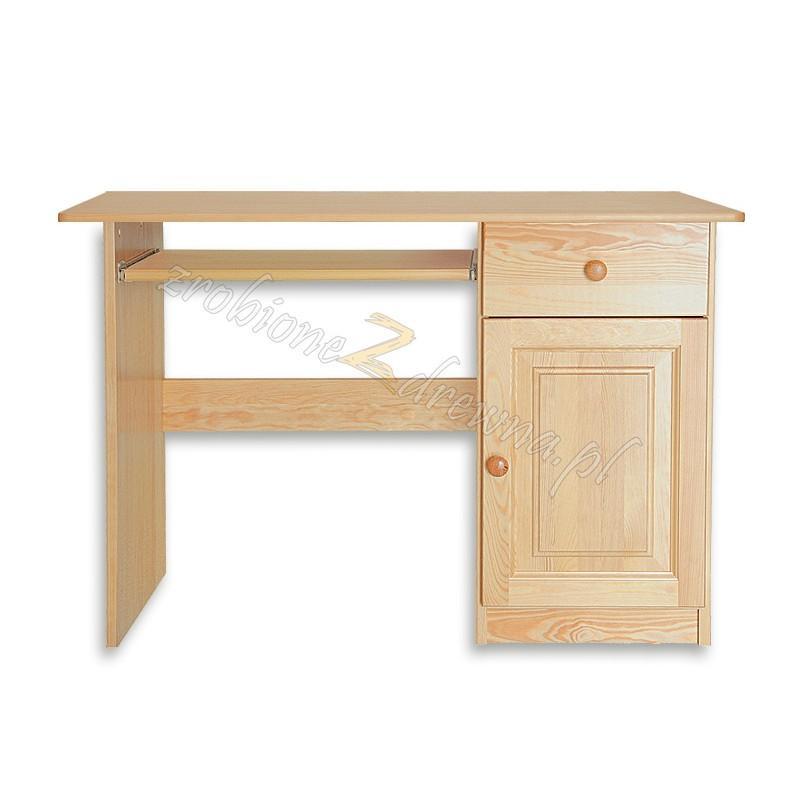 Biurko Klasyczne 09 z litego drewna sosnowego>                                         <span class=