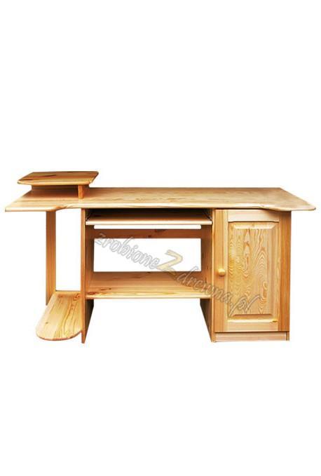 Biurko Klasyczne 12 z litego drewna sosnowego