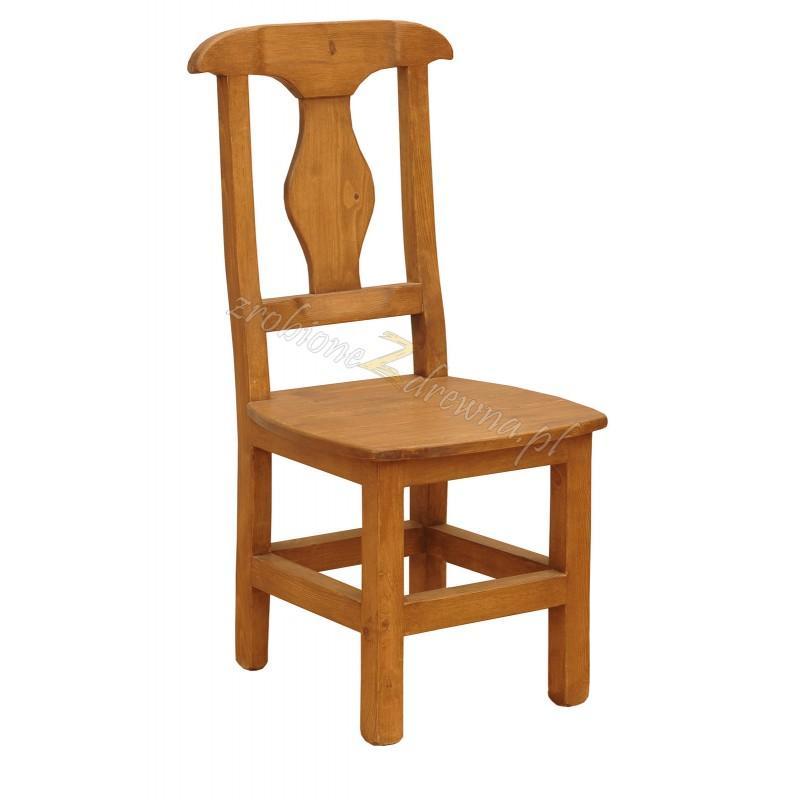 Krzesło z litego drewna Hacienda 05 w stylu retro>                                         <span class=