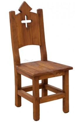 Woskowane krzesło sosnowe Hacienda 06 do salonu lub kuchni