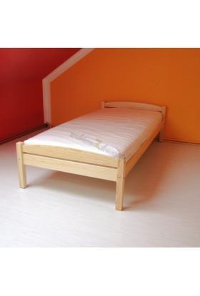 Łóżko drewniane Klasyczne 01 do sypialni