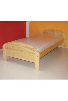 Łóżko Klasyczne 03 z litego drewna sosnowego