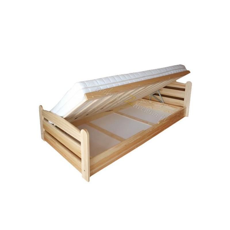 Łóżko drewniane podnoszone Klasyczne 04 do sypialni>                                         <span class=