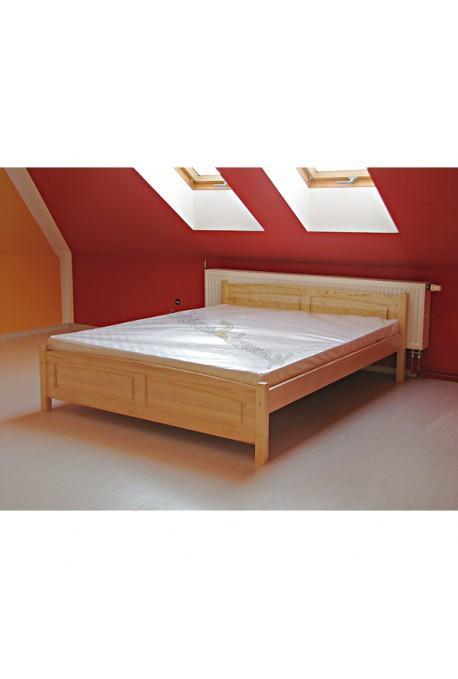 Łóżko Klasyczne 05 z litego drewna sosnowego