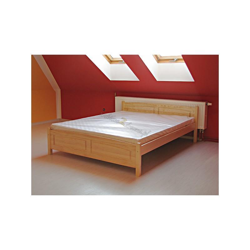 Łóżko Klasyczne 05 z litego drewna sosnowego>                                         <span class=