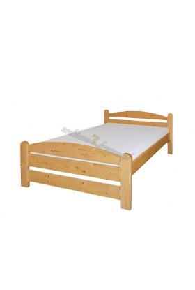 Łóżko drewniane Klasyczne 07 do sypialni