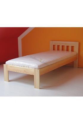 Łóżko sosnowe Klasyczne 08 do sypialni