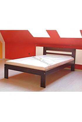 Łóżko Klasyczne 09 z litego drewna sosnowego