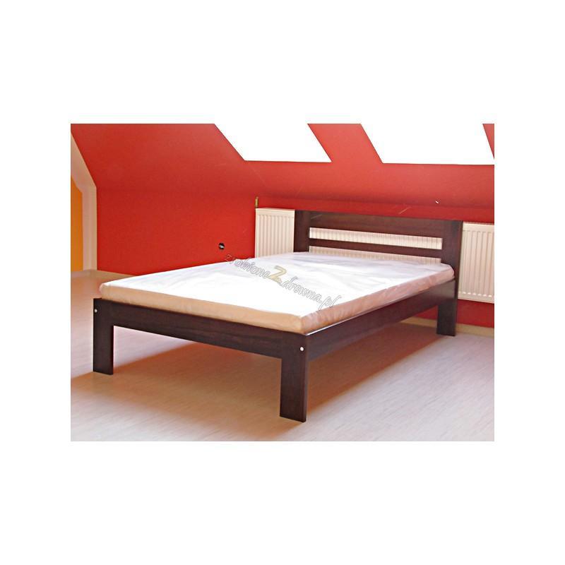 Łóżko Klasyczne 09 z litego drewna sosnowego>                                         <span class=