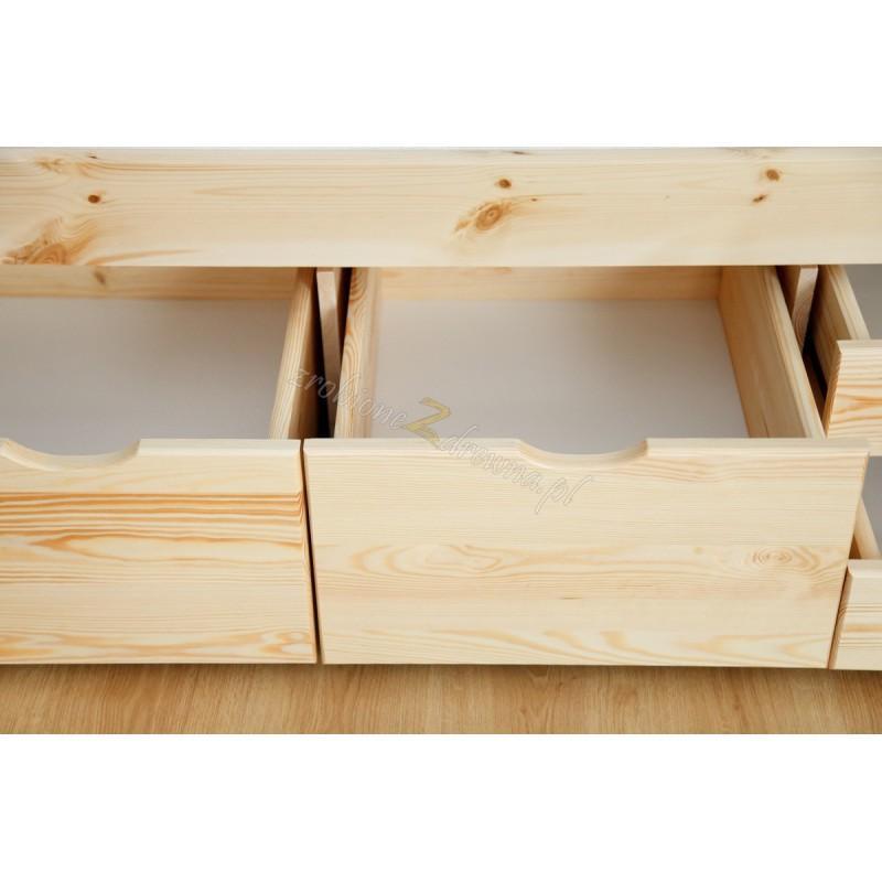 Łóżko Klasyczne 15 z litego drewna sosnowego>                                         <span class=