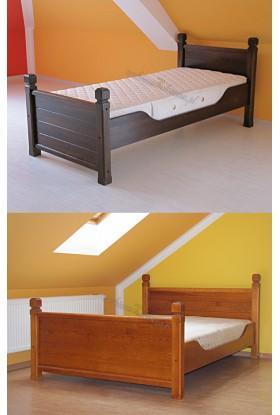 Łóżko drewniane Klasyczne 16 do sypialni