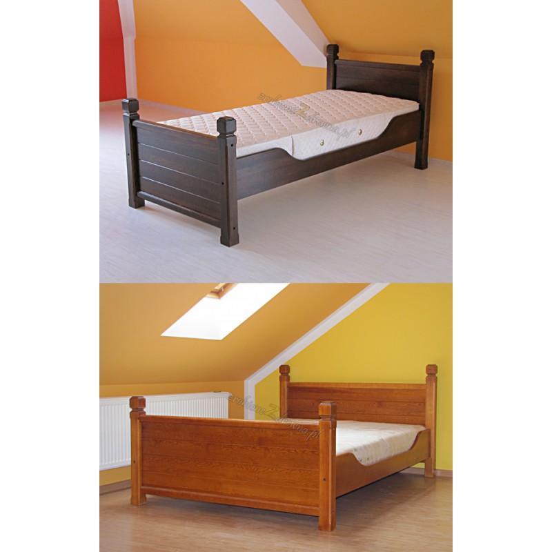 Łóżko drewniane Klasyczne 16 do sypialni>                                         <span class=