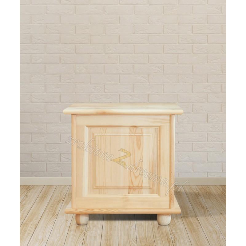 Kufer drewniany Klasyczny 01 do sypialni otwierane wieko>                                         <span class=