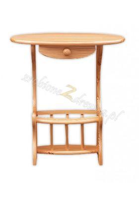 Stolik drewniany do przedpokoju Klasyczny 18