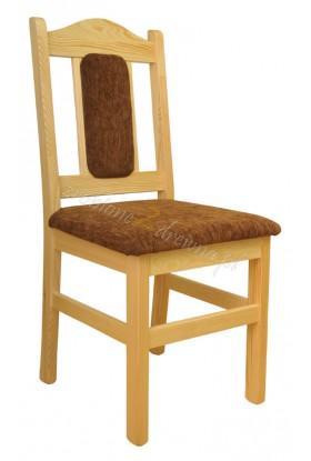 Krzesło Klasyczne 09 z litego drewna sosnowego