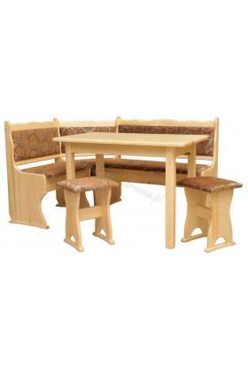 Narożnik drewniany Klasyczny 02