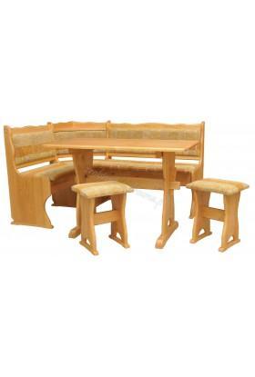 Narożnik drewniany Klasyczny 04