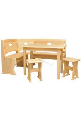 Narożnik drewniany Klasyczny 06