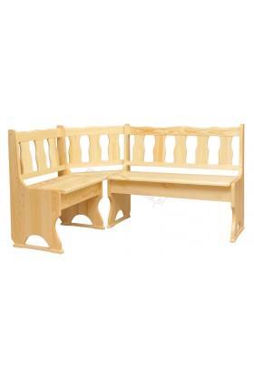 Narożnik drewniany Klasyczny 07