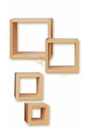 Półka Klasyczna 04 z litego drewna sosnowego