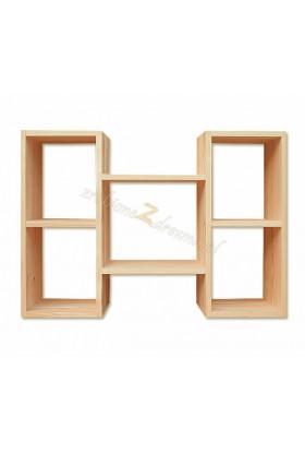 Półka Klasyczna 05 z litego drewna sosnowego