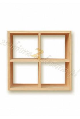 Półka Klasyczna 11 z litego drewna sosnowego