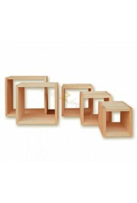 Półka drewniana Klasyczna 12 do salonu