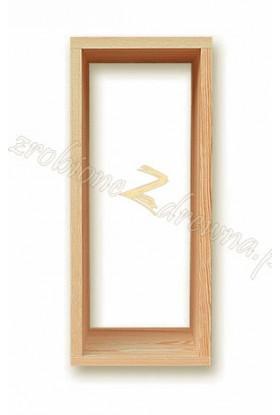 Półka Klasyczna 14 z litego drewna sosnowego