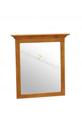 Rustykalne lustro drewniane Hacienda 01 do sypialni