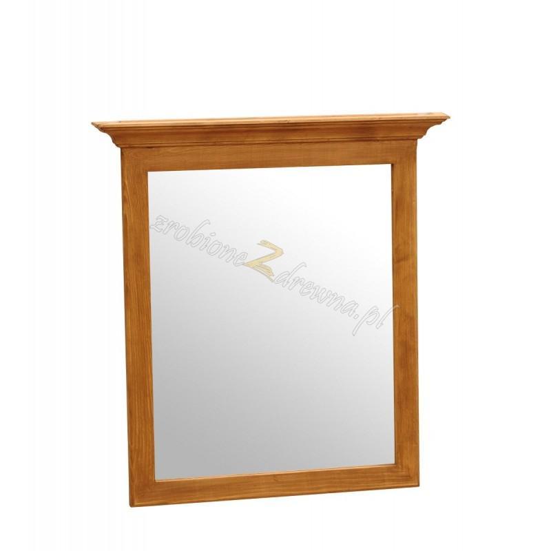 Rustykalne lustro drewniane Hacienda 01 do sypialni>                                         <span class=