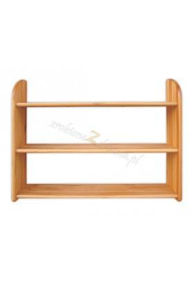 Półka Klasyczna 17 z litego drewna sosnowego