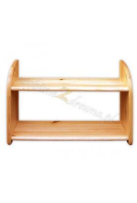 Półka drewniana Klasyczna 21 do salonu
