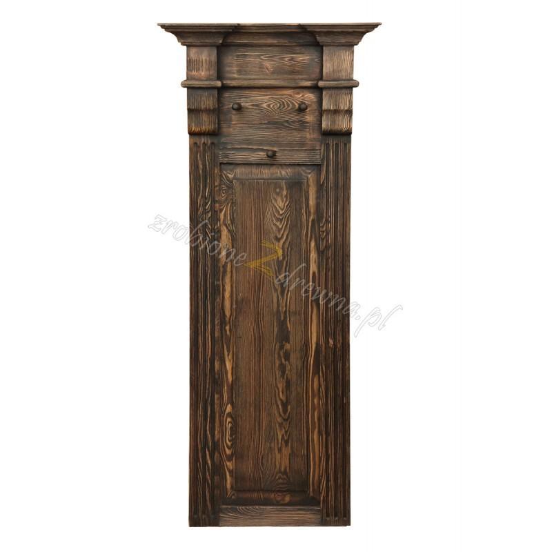 Rustykalny wieszak drewniany Hacienda 01 do przedpokoju>                                         <span class=