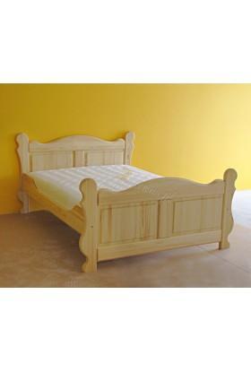 Łóżko sosnowe Klasyczne 17 do sypialni