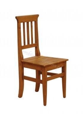 Woskowane krzesło sosnowe Hacienda 03 do salonu lub kuchni