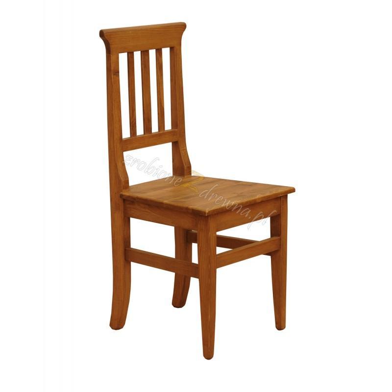 Woskowane krzesło sosnowe Hacienda 03 do salonu lub kuchni>                                         <span class=