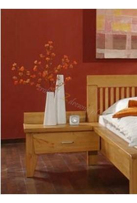 Szafka nocna drewniana Genua 10 do sypialni