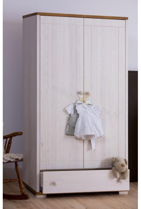 Szafa drewniana Genua 01 do pokoju dziecięcego